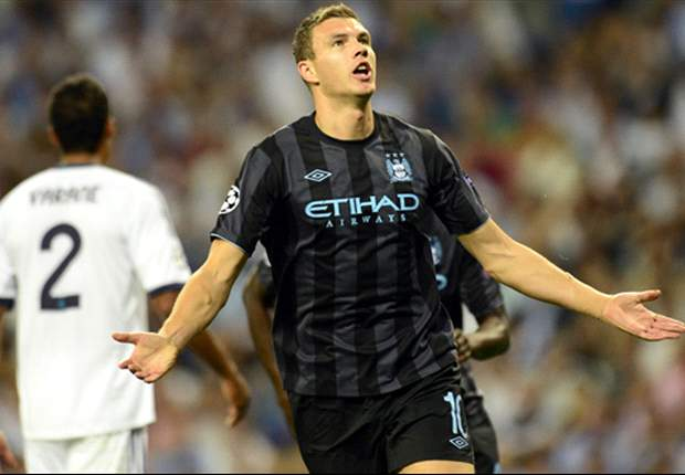 Dzeko suggests Manchester City lack experience after Real Madrid defeat