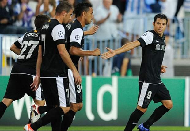 Anderlecht-Málaga, ¡en vivo por la Champions!