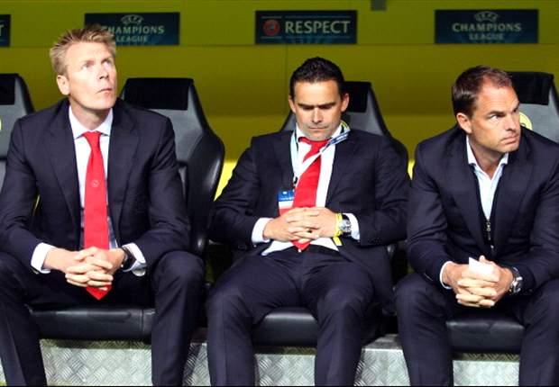 Ajax geniet van feest in Barcelona