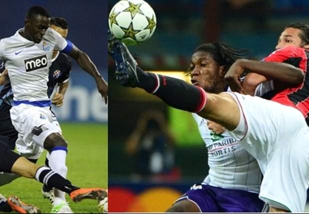 Colombianos en Champions
