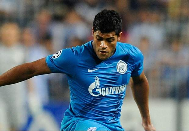 Hulk happy with life at Zenit