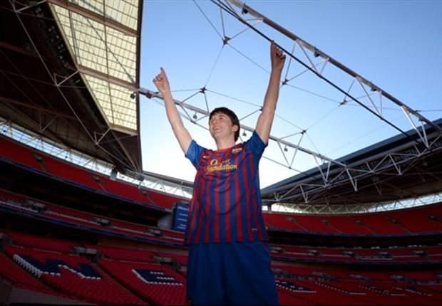 Lionel Messi será 'inmortal' con una estatua propia en Wembley