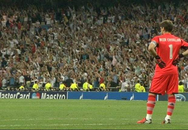 Iker Casillas spotted not celebrating Ronaldo's late winner against City