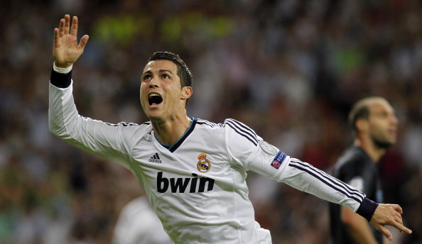 Top 10 faces of Cristiano Ronaldo