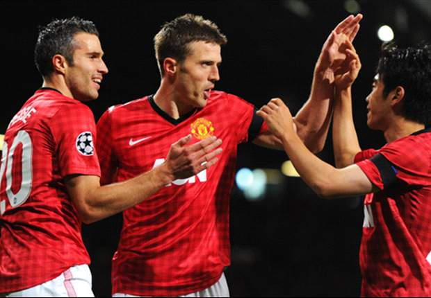 Manchester United 1-0 Galatasaray: Rare Carrick goal ensures Nani penalty miss goes unpunished