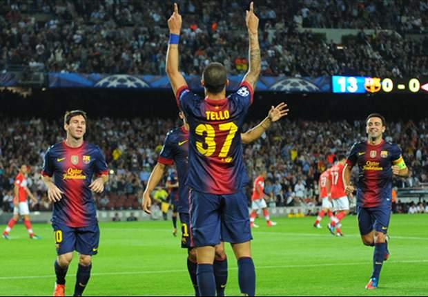 El Barcelona de Tito Vilanova debe cambiar a un 3-4-3
