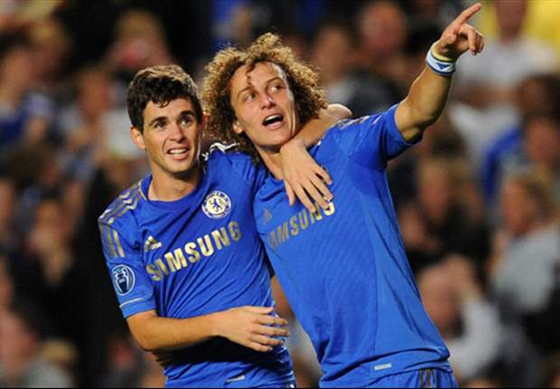 Chelsea trio Oscar, Ramires and Luiz to start for Brazil against England