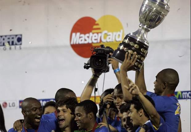 Tahun 2007, Brasil merebut Copa America untuk kali kedelapan sepanjang sejarah.
