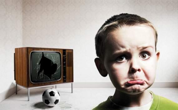 Boy, Football, Tv