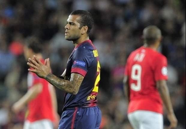 Alves alleen bij reserverol naar PSG