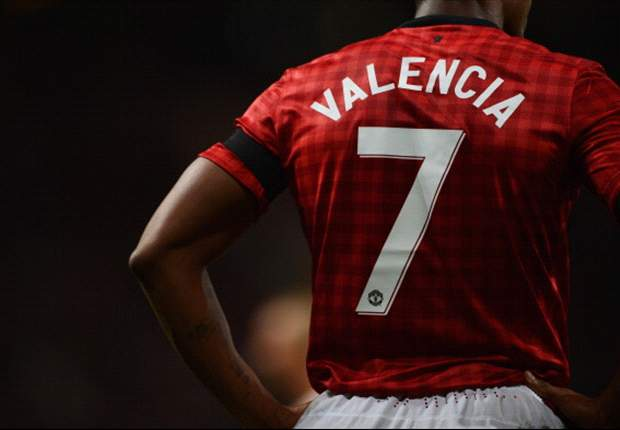 Valencia unfazed following Cristiano Ronaldo and Cantona as Manchester United No.7