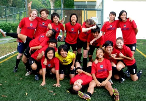 Arion Women's Football Club, Singapore's first all-female football club
