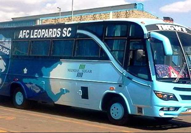 "AFC Leopards' unveil new bus christened ""Monster"" ahead of Gor Mahia derby"