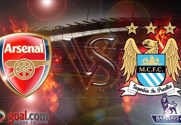 Manchester City - Arsenal: Balapan Ke Tangga Juara Dimulai