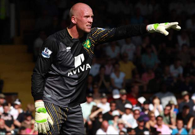 Norwich keeper Ruddy hoping for playing time with England against Sweden