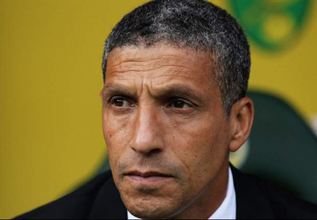 Hughton calls for a response after Liverpool drubbing