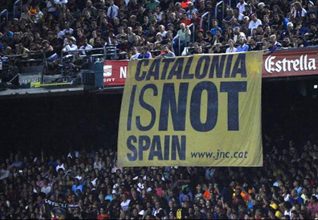 Barca can't play in La Liga if Catalunya gets independence - LFP president