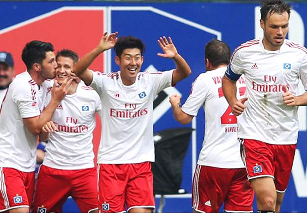 Hamburg 3-2 Borussia Dortmund: Son double ends BVB's 31-game undefeated run