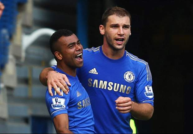 Branislav Ivanovic Puji Ashley Cole