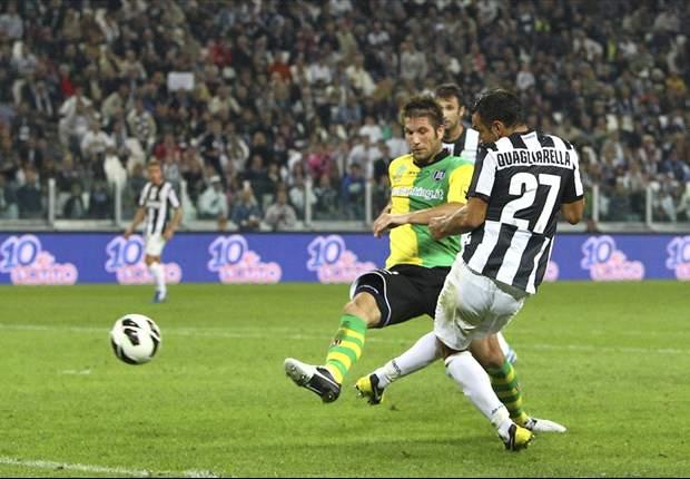 Fabio Quagliarella Menangkan Juventus