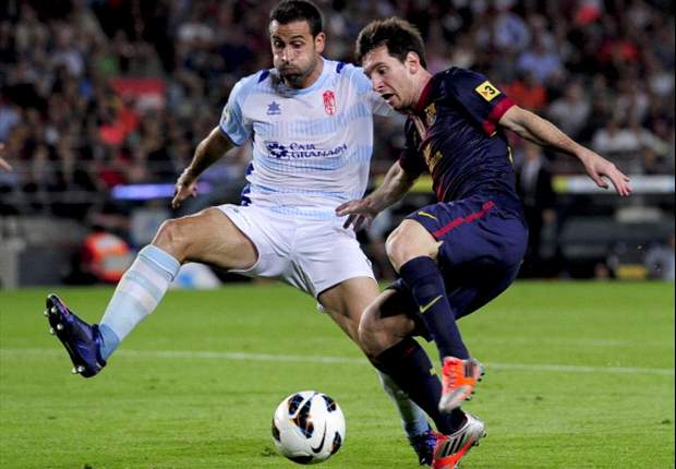 Barcelona 2-0 Granada: Xavi to the rescue as leaders maintain perfect start