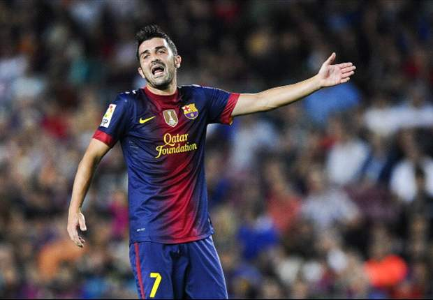 TEAM NEWS: David Villa starts for Barcelona in trip to Deportivo