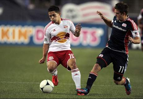 Revs Visit Red Bulls In Playoffs