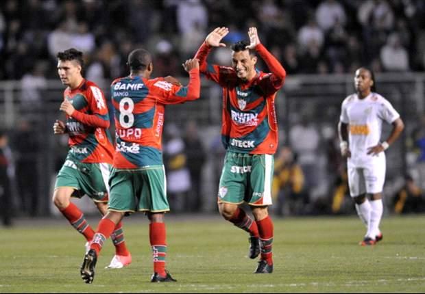 Moisés lamenta gol perdido contra o Santos