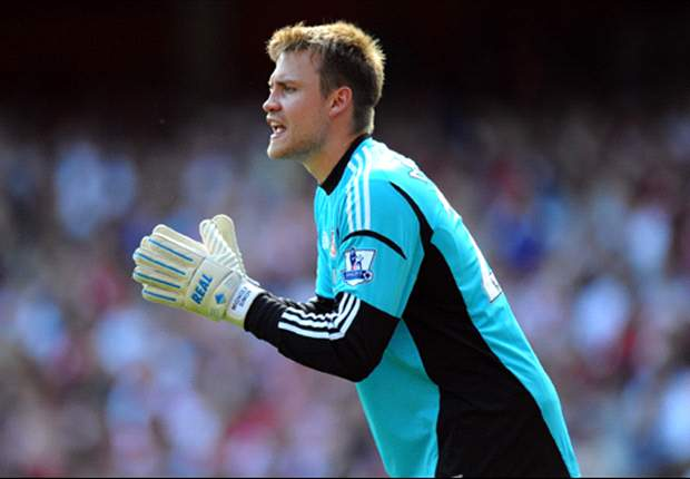 Mignolet will be competition for Reina at Liverpool, says Rodgers