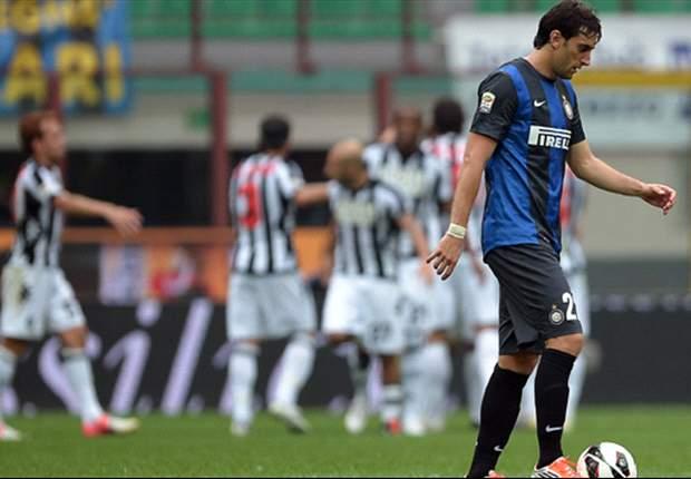Milan en Inter beiden onderuit