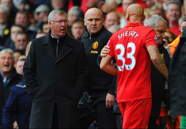 Sir Alex Ferguson: Shelvey was trying to blame me for his clear red card