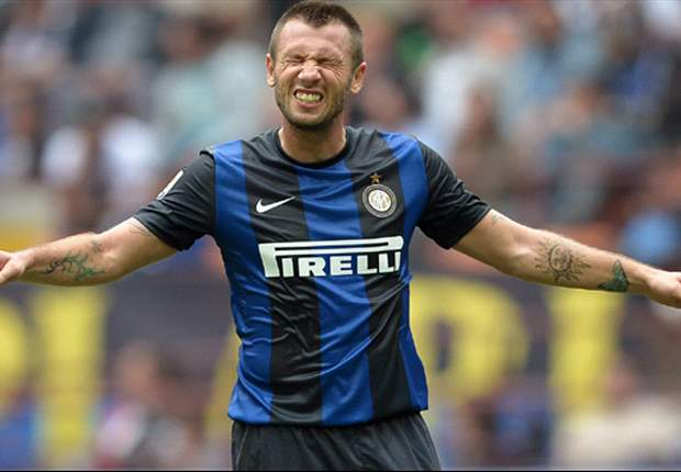 Chievo 0-2 Inter: Pereira & Cassano earn away win for Stramaccioni's side