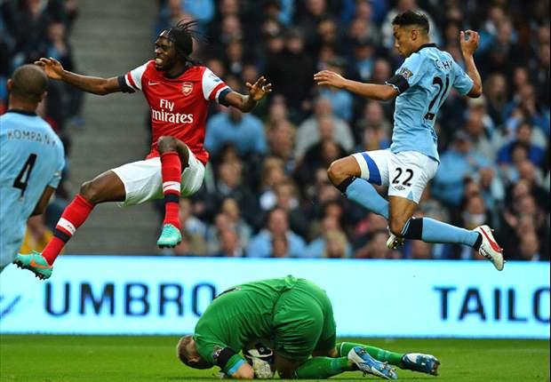 Manchester City-Arsenal 1-1: Gunners in rimonta, Mancini già assaporava i tre punti