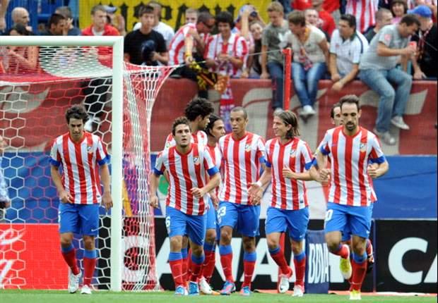 Atlético pakt in eerste helft drie punten