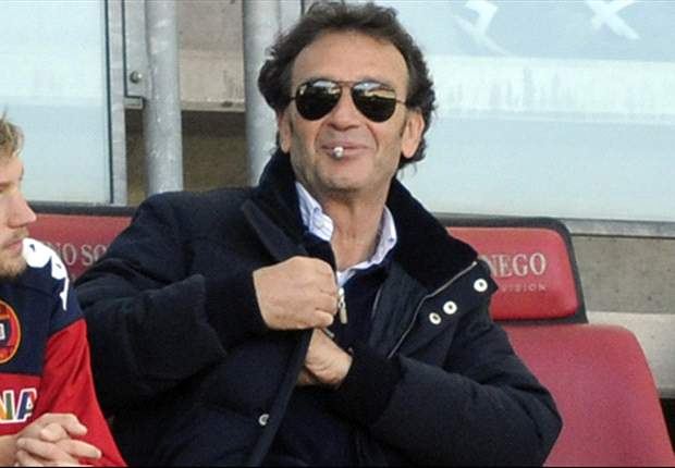 Cagliari president Cellino suspends himself