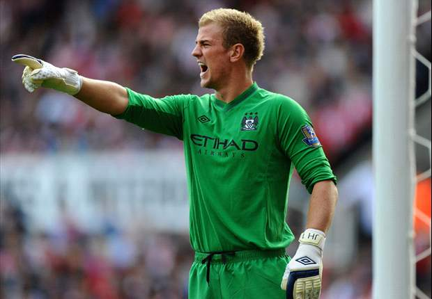 Manchester City can still win the title, insists Hart