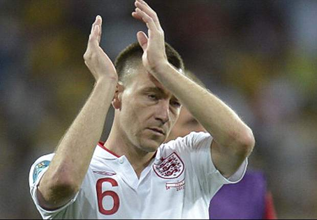 England defender John Terry retires from international action