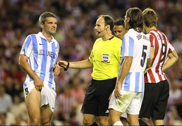 Jeremy Toulalan, baja segura del Málaga ante el Betis