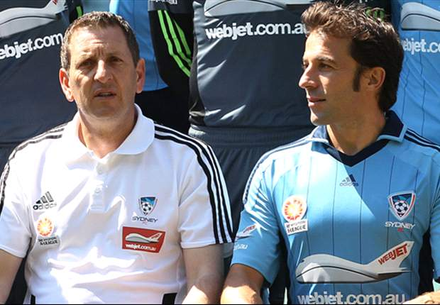 I tifosi del Sydney FC dovranno attendere ancora per il debutto di Del Piero: cancellata l'amichevole contro il Central Coast