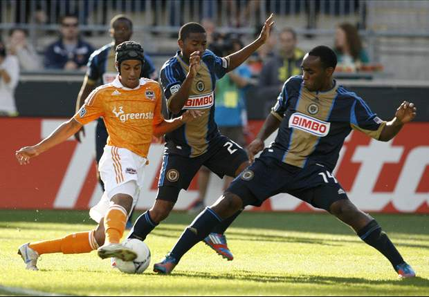 Philadelphia Union 3-1 Houston Dynamo: Freddy Adu grabs two
