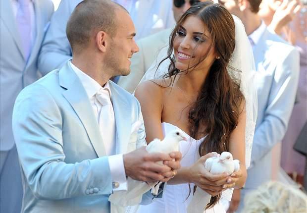 """Sneijder prepara il trasloco, la moglie Yolanthe ha già fatto le valigie: """"Ai primi di gennaio lasceremo Milano"""""""
