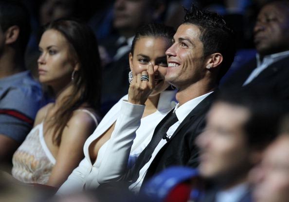 Top 10 Footballer Celebrity Couples Cristiano Ronaldo