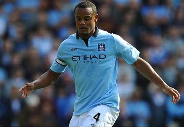 Mancini concerned by injured Kompany's Belgium stance