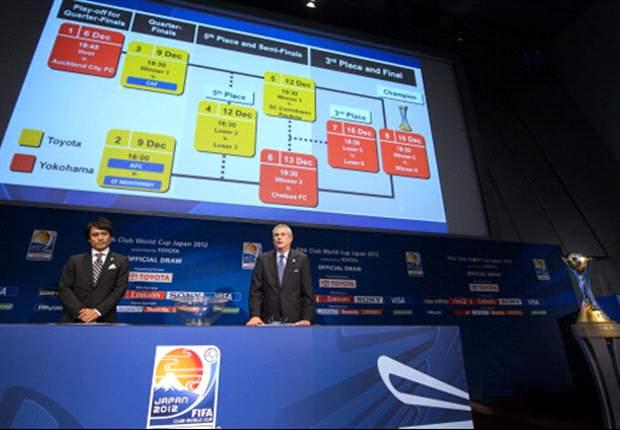 Monterrey, Chelsea, Corinthians, y el sorteo del Mundial de Clubes 2012