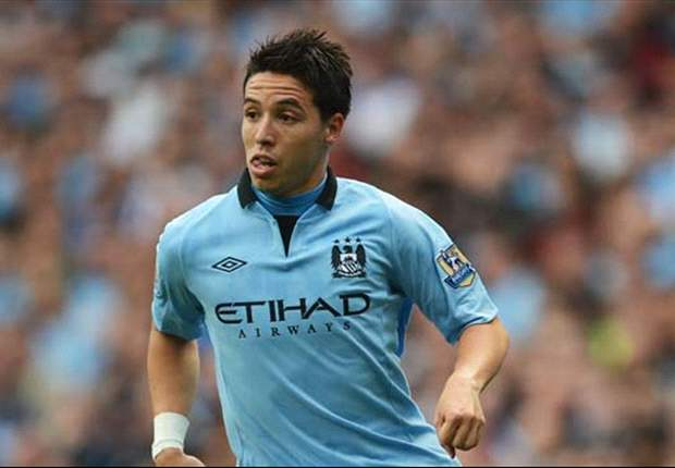 Manchester City midfielder Nasri doubtful for Reading clash with groin injury