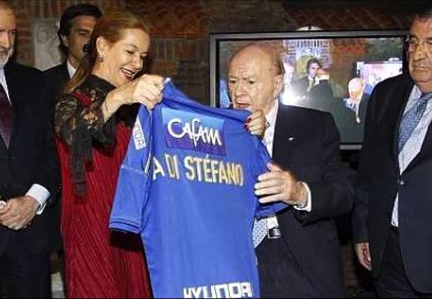 El homenaje que Colombia el rindió a Di Stefano