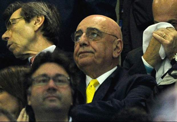 Galliani: Referees did not favour Milan in Inter win