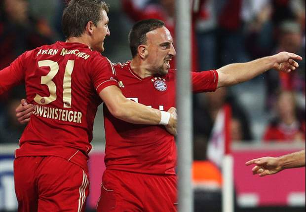 Bayern Munich 3-0 Wolfsburg: Mandzukic double and Schweinsteiger maintain perfect start