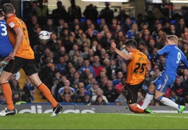 Chelsea 6-0 Wolverhampton Wanderers: Fernando Torres, Juan Mata y Oriol Romeu disfrutan del festival
