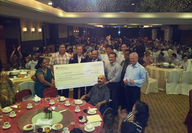 $65,000 raised at S. Anthonysamy fundraising dinner